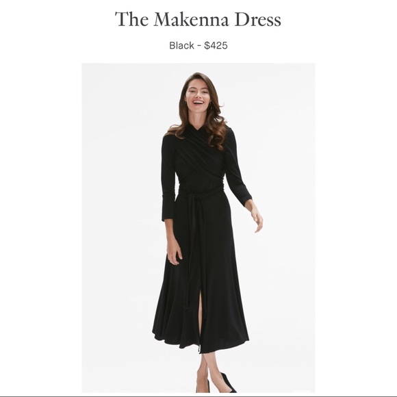 57670682f3 MM.LaFleur- The Makenna Dress in Black